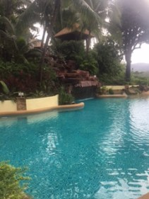 The main pool at Centara Villas