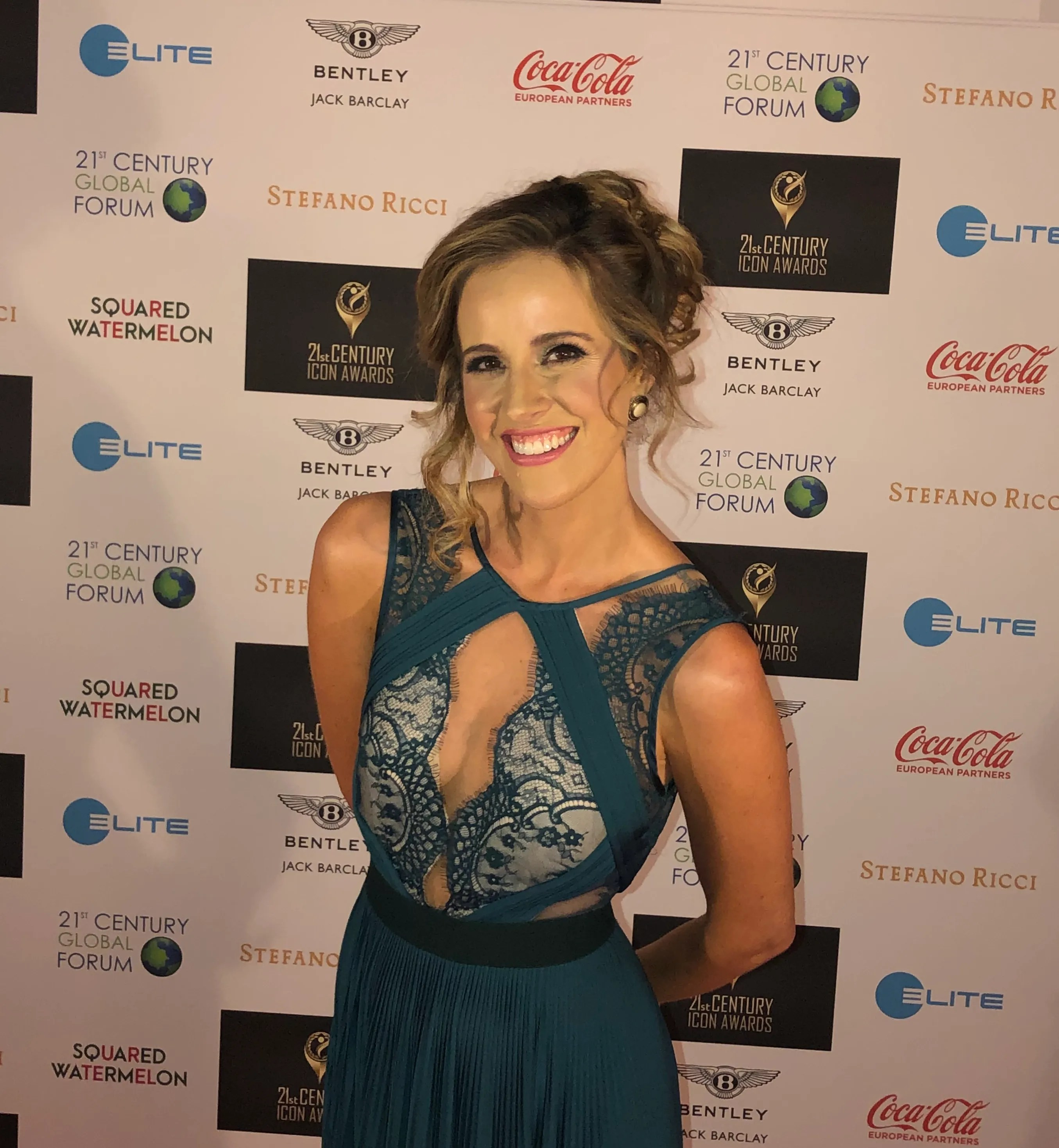 Louise Houghton 21st Century Icon Awards Red Carpet