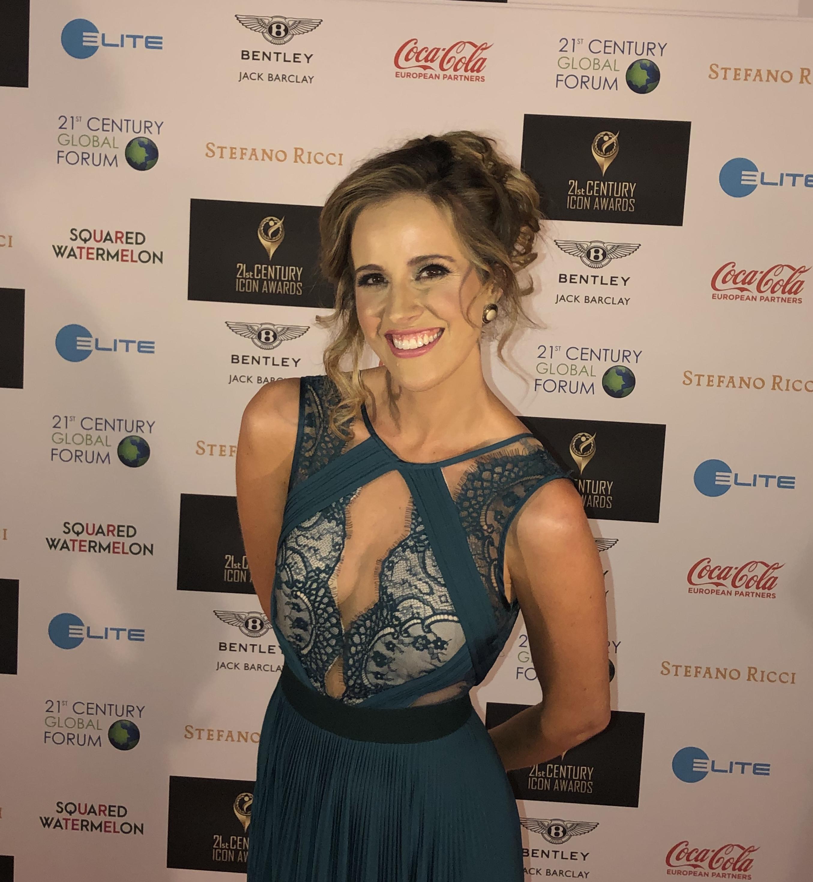 Louise Houghton 21st Century Icon Awards Red Carpet