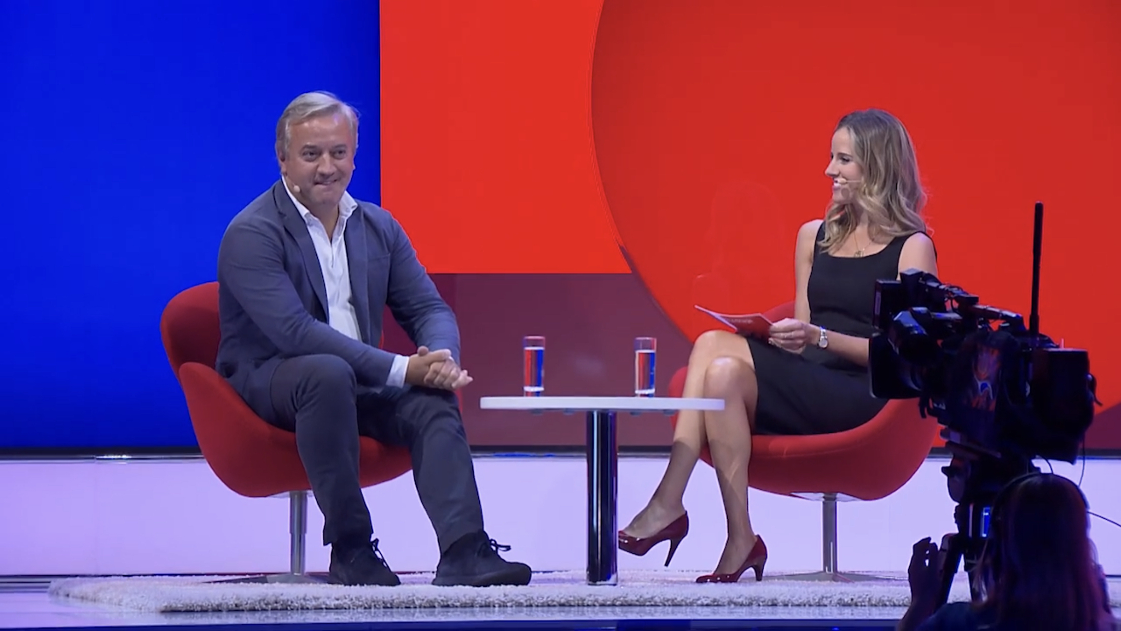 Louise Houghton DMEXCO 2019 Dominic Delport of Vice
