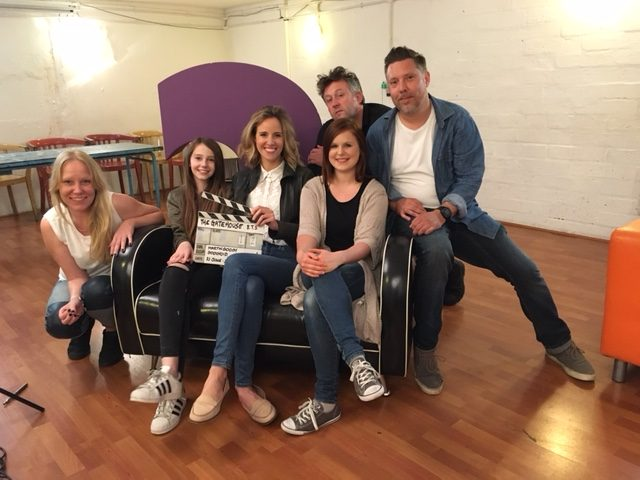 Louise Houghton BTS interviews for Matin Gooch Movies