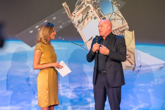 Interviewing Dutch physician and astronaut, André Kuipers