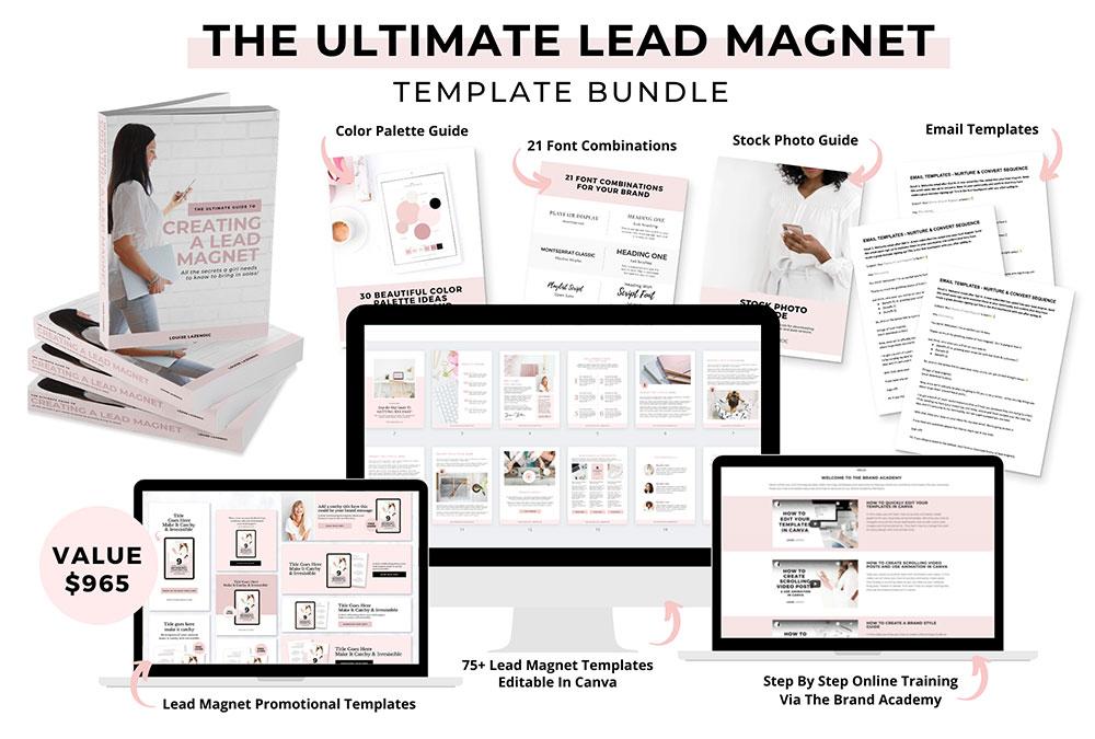 Lead-Magnet-template-bundle-louise-lazendic-marketing-branding