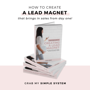 How to create a lead magnet that brings in sales from day one