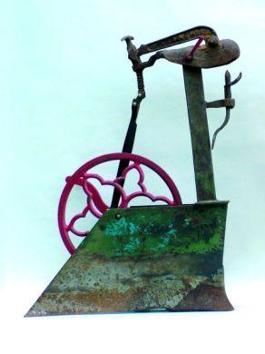 Der Schwan | 2003, Eisen | 70 x 53 x 28 cm