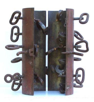 Schlüsselerlebnis | 2005, Eisen | 40 x 40 x 28 cm