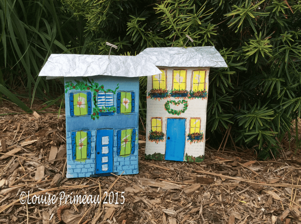 little homes of wood