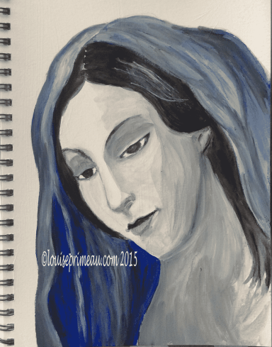 blue virgin