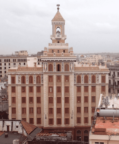 facade of Bacardi Building
