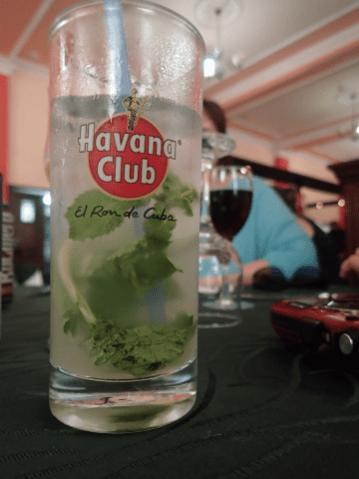 first mojito Cuba