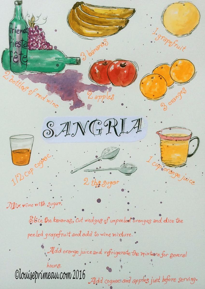 sangria recipe illustrated