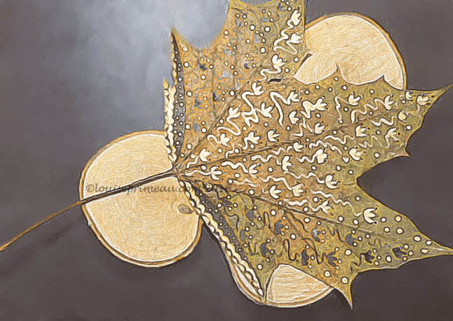 gold leaf transformed in apps