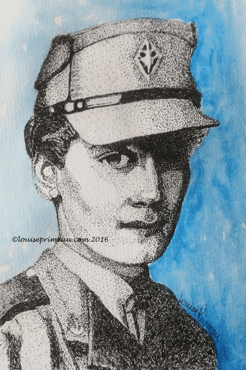 pointillism - Canadian Women's Army Corps