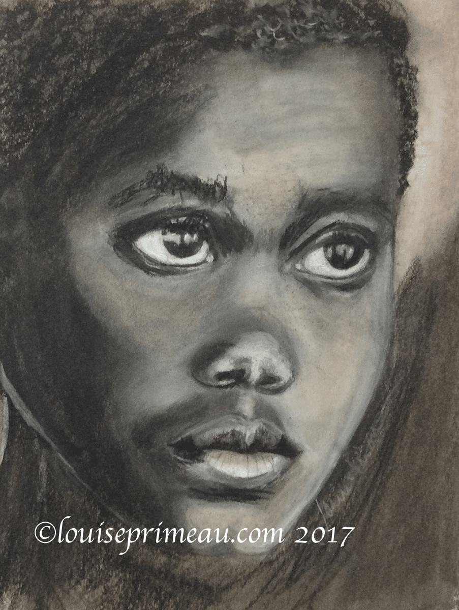 Childhood Lost - Charcoal