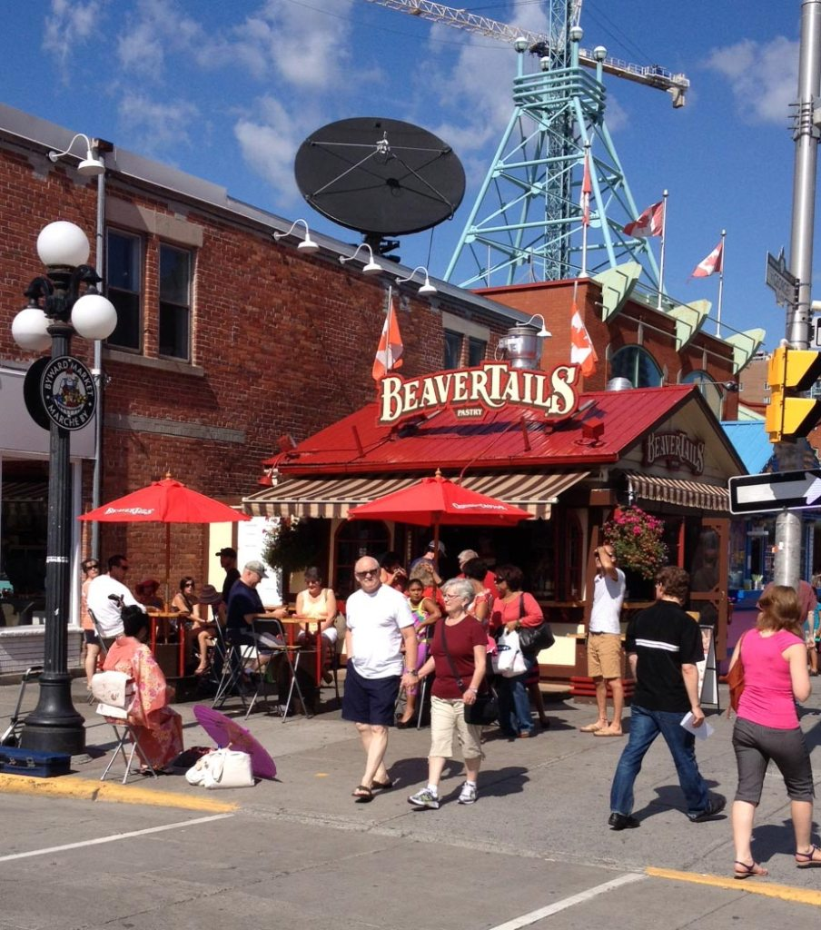 Beavertails in the Byward Market