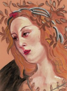 My version of Pallas by Botticelli