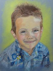 Zack pencil portrait