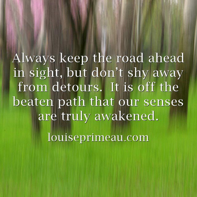 quote about the road ahead