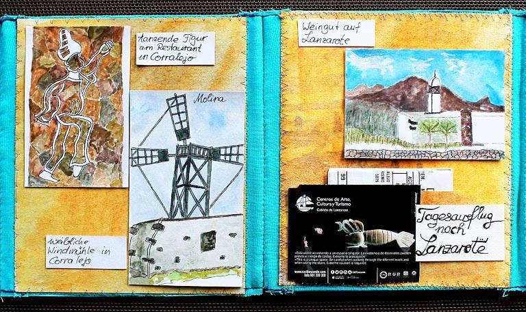 travel sketches of Fuerte