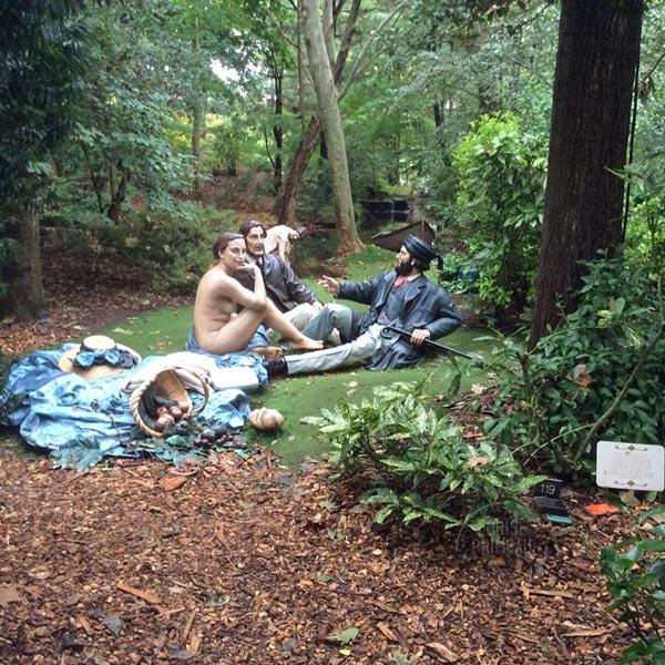 Déjeuner Déjà Vu at Grounds for Sculpture
