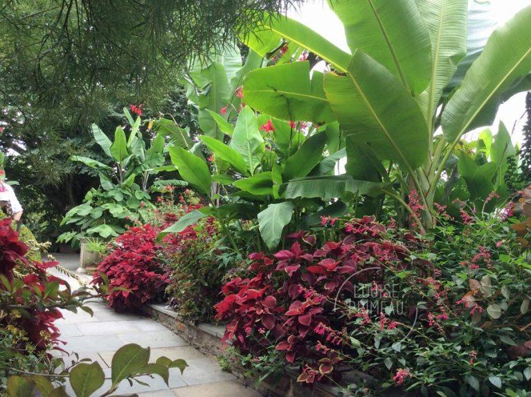 Chanticleer House garden
