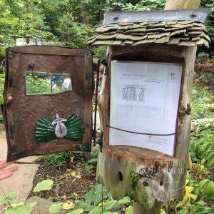 plant list box at Chanticleer