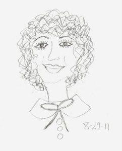 Teresa Cash - first drawing