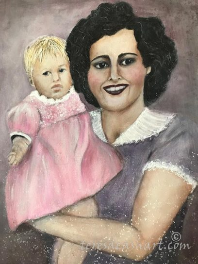 Me and Mom by Teresa Cash
