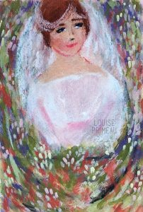 The blushing bride by Louise's ARTiculations