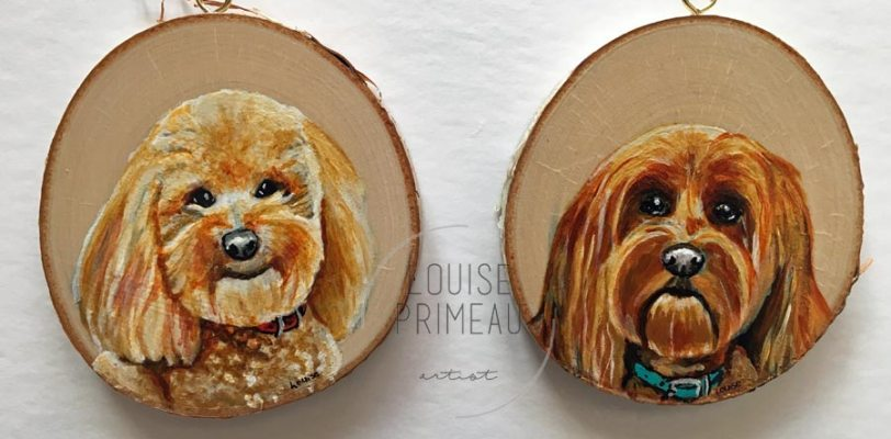 Custom pet portraits by Louise's ARTiculations