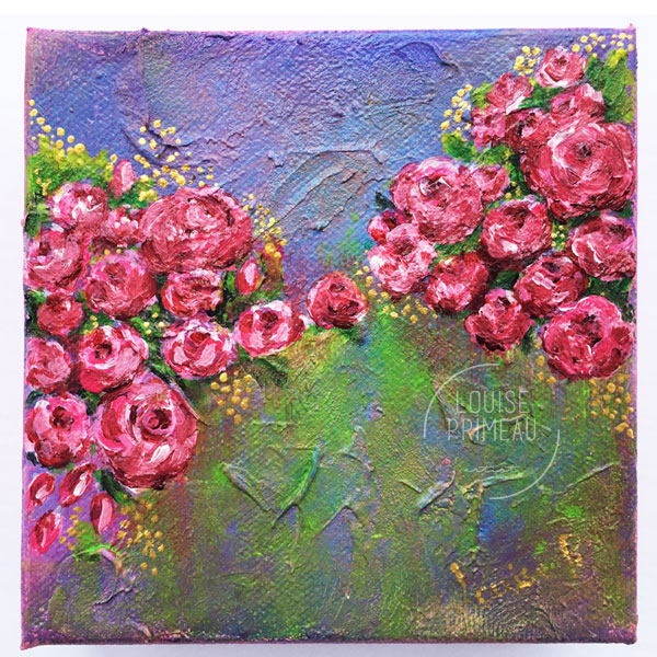 Rose Profusion by Louise Primeau