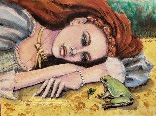 Tamara Mulkey, guest artist at Louise's ARTiculations