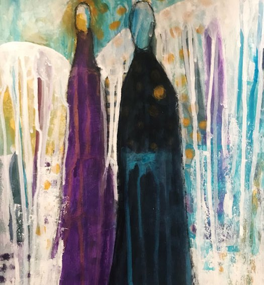 Intuitive painting by Shinjini
