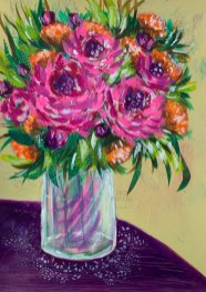 Floral study 8 by Louise's ARTiculations