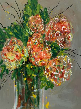 Floral study 7 by Louise's ARTiculations