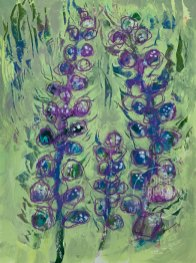 Floral study 4 by Louise's ARTiculations