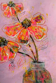 Floral study 3 by Louise's ARTiculations