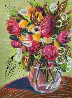 Floral study 2 by Louise's ARTiculations