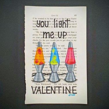 Lava Lamps - Valentine's Day Art