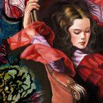 Sweet Dreams, Digital art by Layne Chun, guest artist at Louise's ARTiculations.
