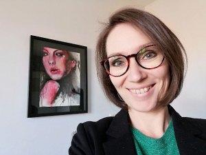 Saskia van Drunen, featured artist at Louise's ARTiculations