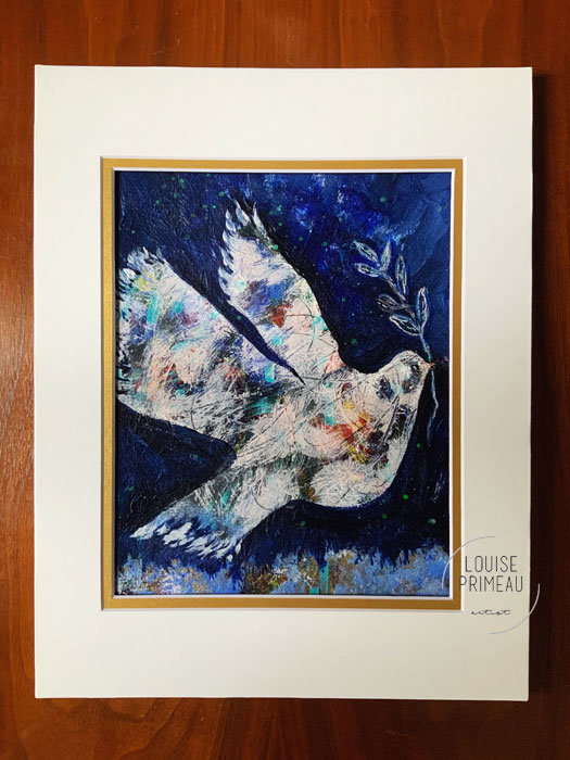 giveaway On the Wings of a Dove