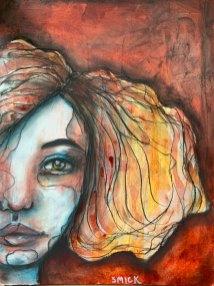 Artist Sherry McDonald from Maryland.