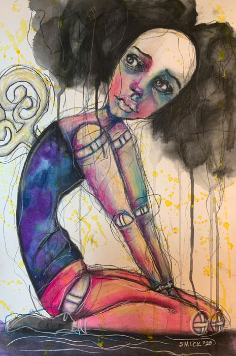 Guest artist Sherry McDonald.