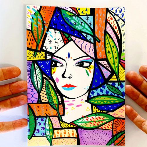 Guest artist Kristina Forrest