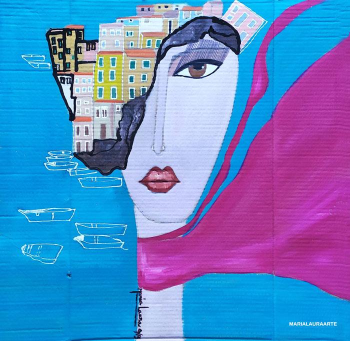 Lady Manarola by Maria Laura Vila