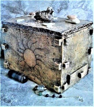 Found Treasure Box by Ingrid Ieva