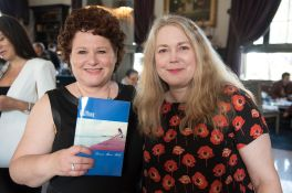 Louise Sattler and Halfling author, Donna Marie Robb at the book launch.