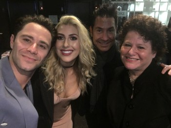 Sasha Farber, Emma Slater (Farber) and Todd Krim
