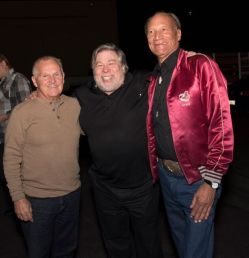 The WOZ and the US Festival founding members. Photo credit: Louise Sattler